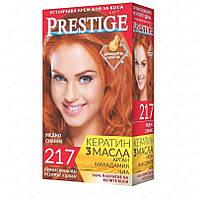 Стойкая краска для волос vip's Prestige №217 Медное сияние