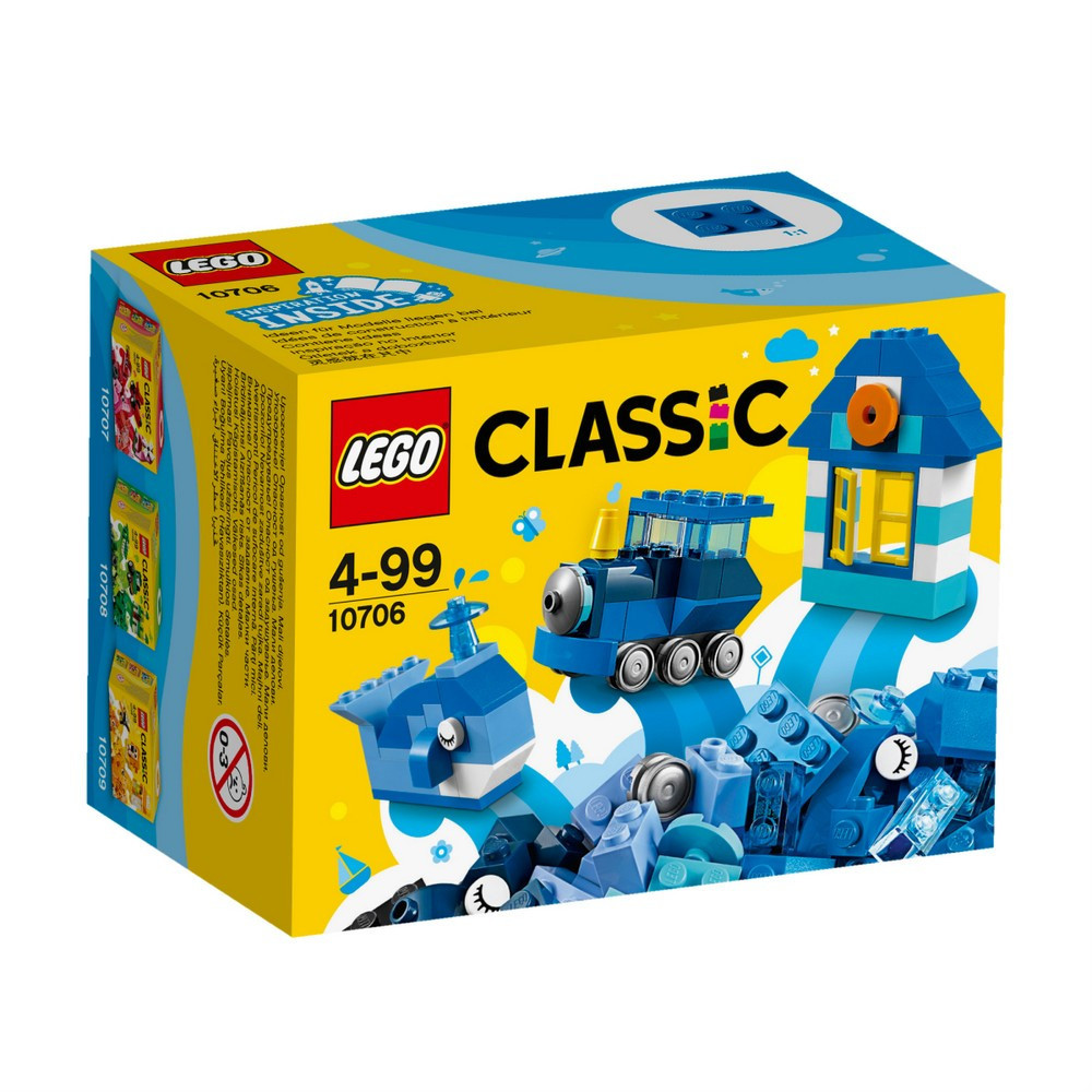 Lego Classic Синій набір для творчості 10706