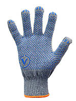 Перчатки трикотажные с ПВХ, 8513, фото 1