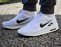 Nike Air Max 90 White/Black чоловічі