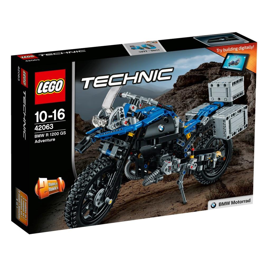 Lego Technic Приключения на BMW R 1200 GS 42063