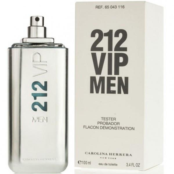 100 мл Тестер Carolina Herrera 212 Vip Men для мужчин