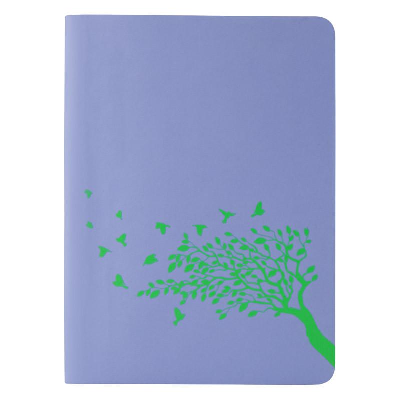 Книга записная Axent Partner Soft Mini 8302-07-A, А6, 80 листов, клетка, голубая