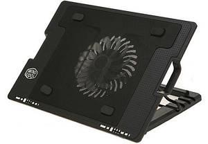 Подставка-кулер для ноутбука Ergostand с охлаждением Черный (ET014)