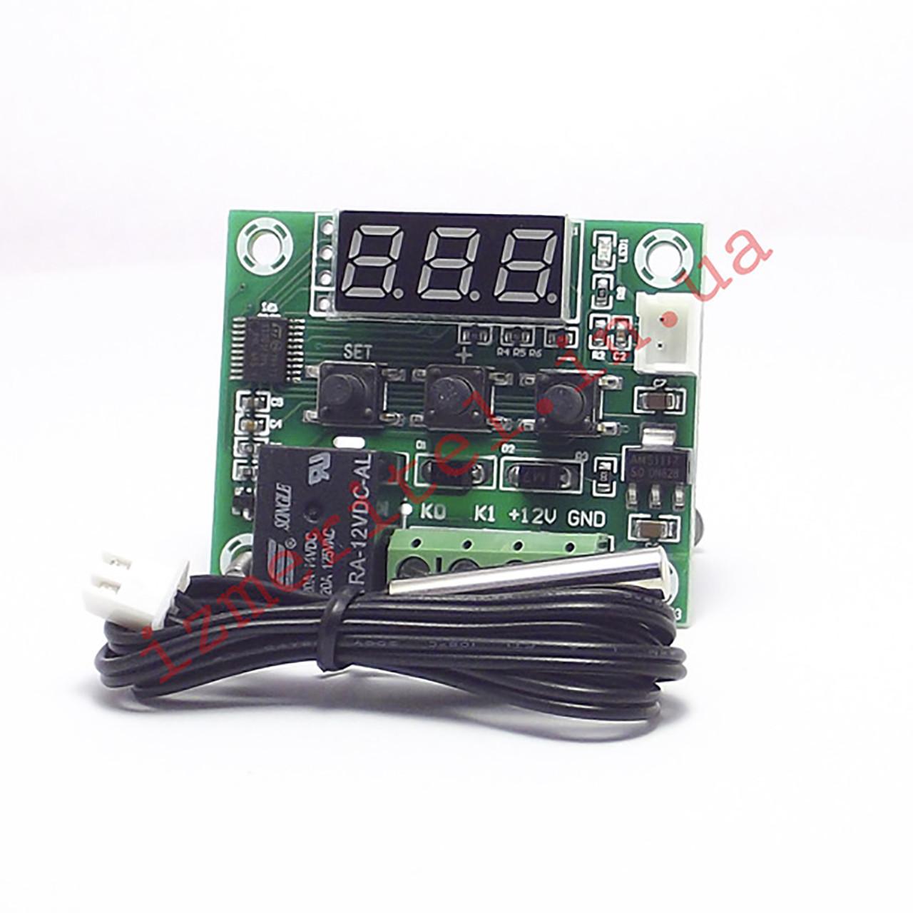Терморегулятор W1209 12v