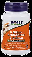 Now 8 Billion Acidophilus & Bifidus 60 veg caps