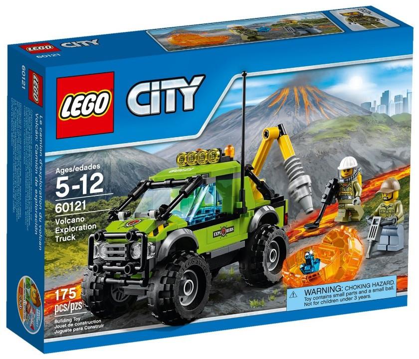 LEGO City Разведывательный грузовик исследователей вулканов 60121