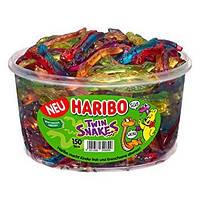 Желейные конфеты Двойные змейки Харибо Haribo 1000гр.150шт.