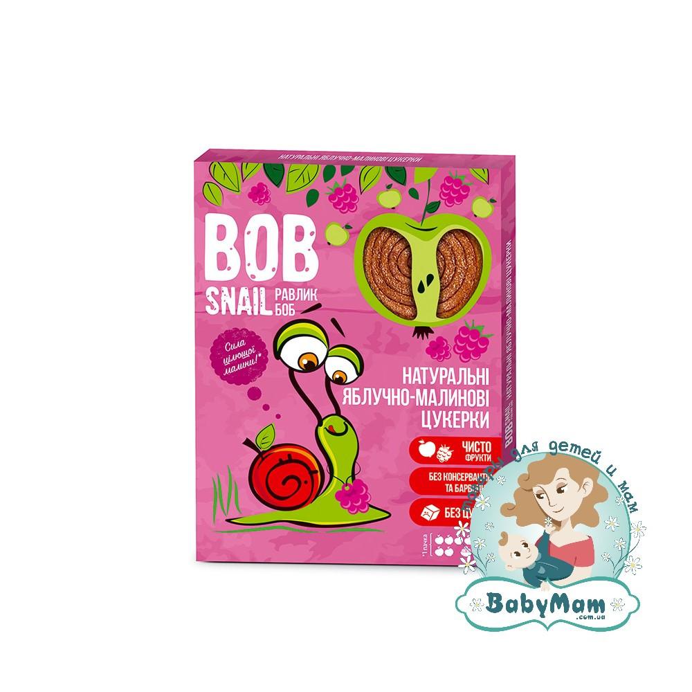 Конфеты натуральные Bob Snail (Равлик Боб) Яблочно-Малиновые, 120гр