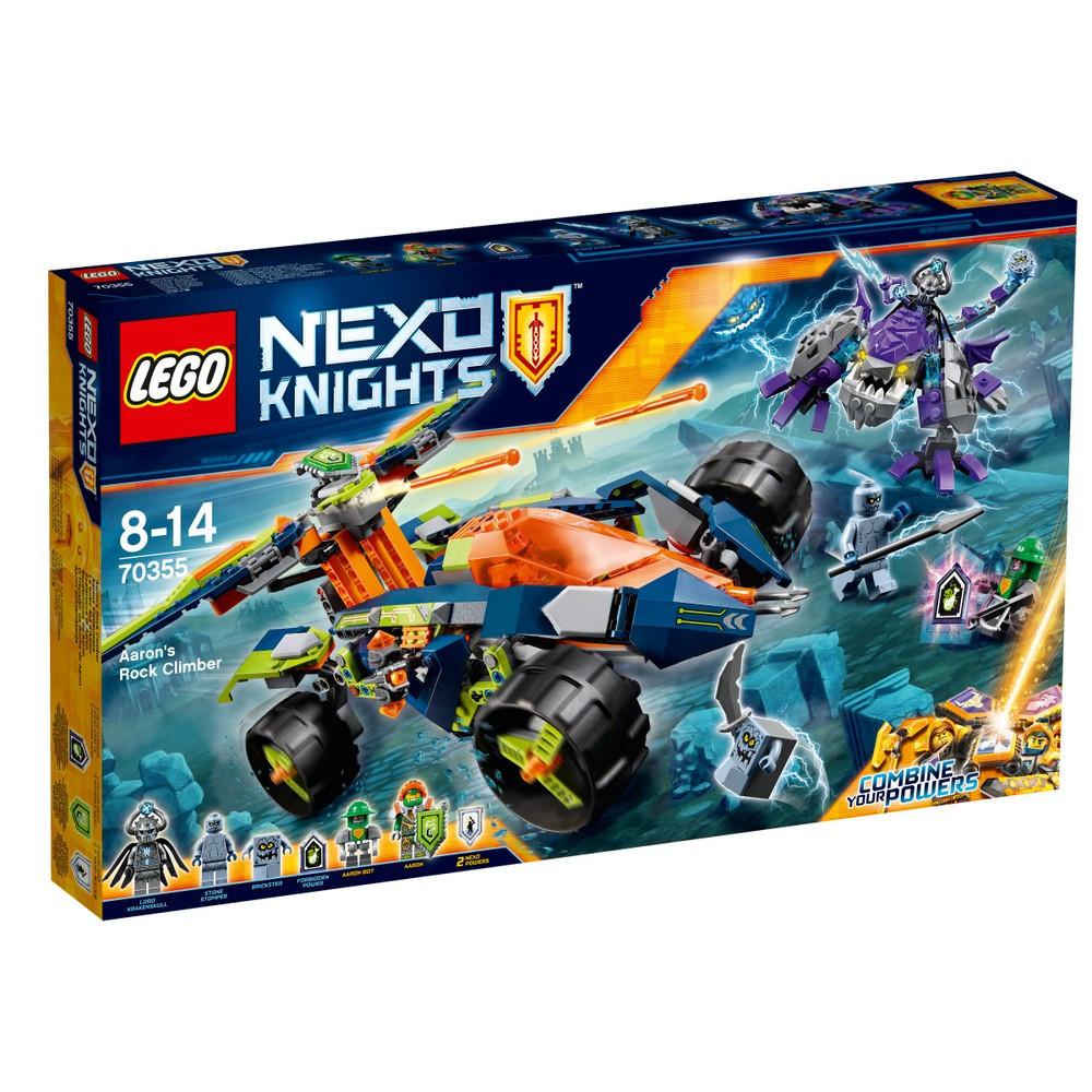 Lego Nexo Knights Всюдихід Аарона 4x4 70355