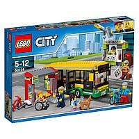 Lego City Автобусная остановка 60154