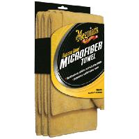 Meguiar's Supreme Shine Microfiber Towel Рушник микрофибровое 40 х 63 см, 3 шт/уп.