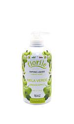 Black Parisienne Fiorile Крем мыло для рук GREEN APPLE зеленое яблоко 500 мл Код 14461