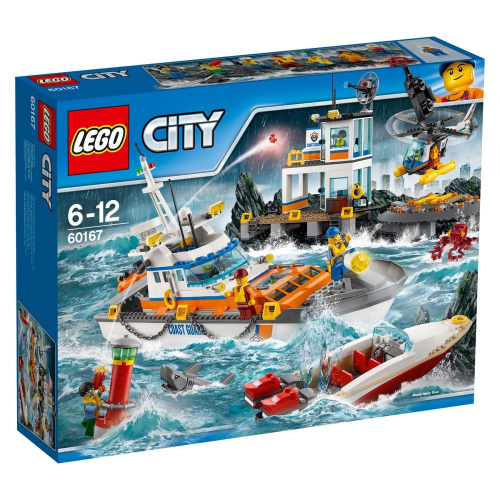 Lego City Штаб береговой охраны 60167