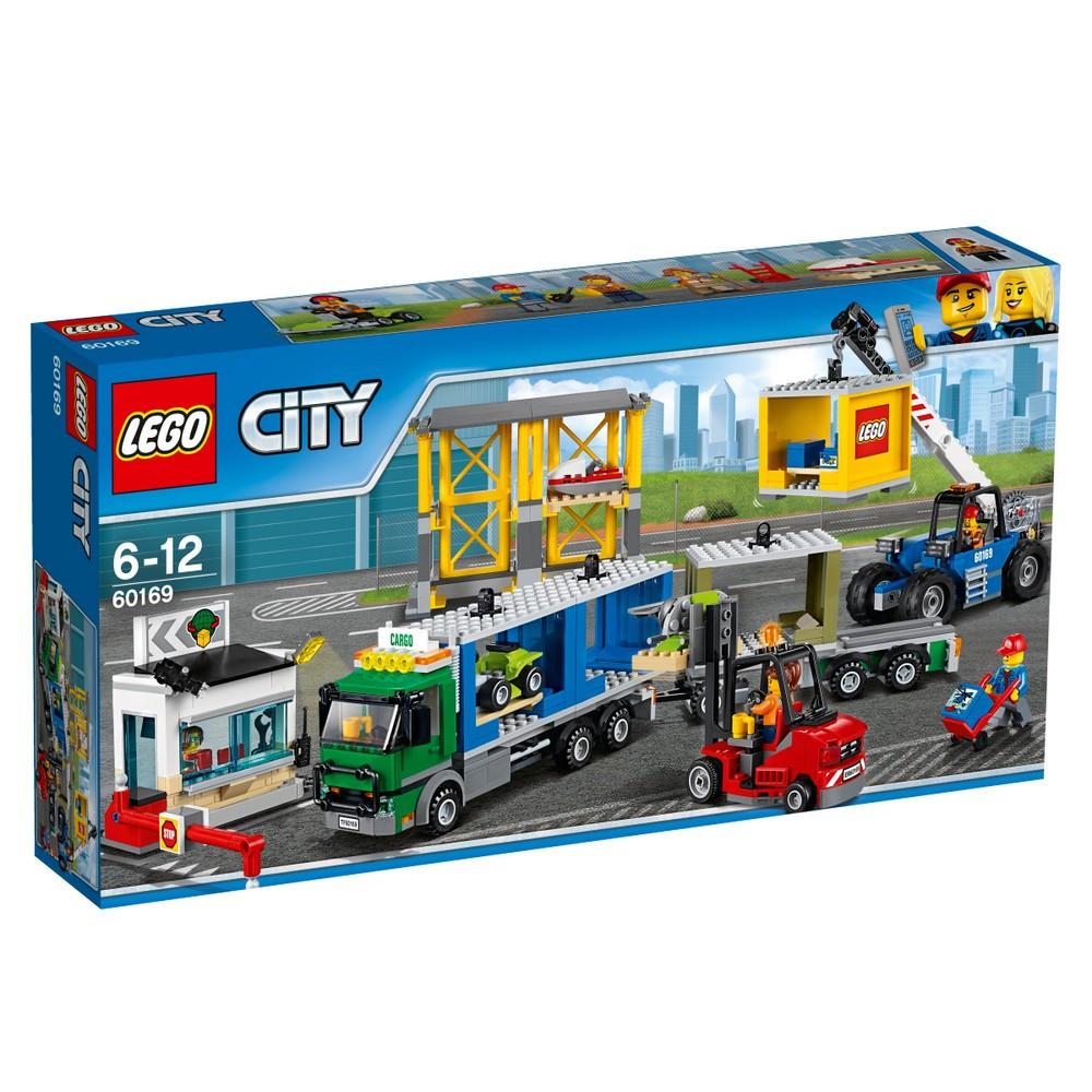 Lego City Грузовой терминал 60169