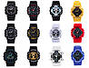 Спортивные наручные часы Casio G-Shock ga-100 Black-Gold Касио реплика, фото 2