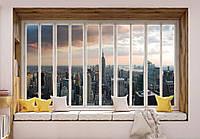 Фотообои 3D 368x254 см Идеальный вид на Нью-Йорк (10667CN)