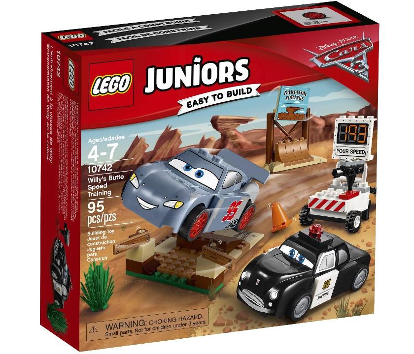 Lego Juniors Тренувальний полігон Віллі Бутта 10742