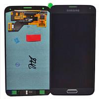 Дисплей (екран) для Samsung A310F Galaxy A3 (2016) + тачскрін, чорний, копія, без регулювання яскравості