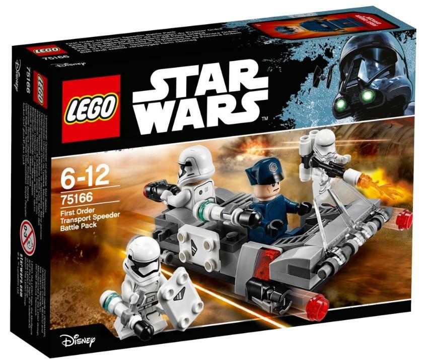Lego Star Wars Спидер Первого Ордена 75166