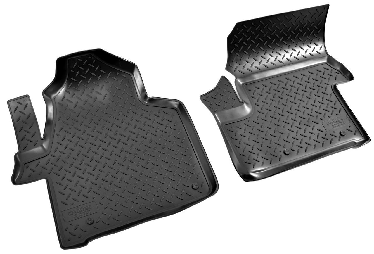 Коврики в салон для Mercedes Sprinter (06-13)/Volkswagen Crafter (06-) полиуретан передки NPL-Po-56-71