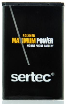 Аккумулятор bl 4c 6300, 1202, 6131, x2 Sertec, фото 2