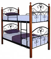 Кровать Melbi Патриция Вуд двухъярусная