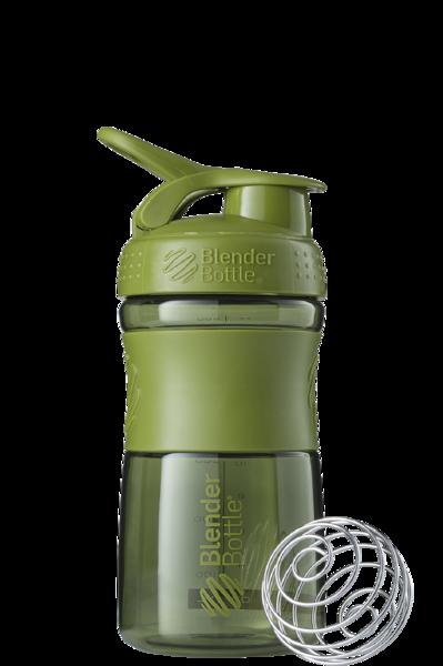 Спортивная бутылка-шейкер BlenderBottle SportMixer 590ml Moss Green (ORIGINAL)