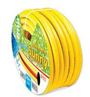 Шланг для полива Evci Plastik Sunny Радуга желтая 3/4  50 м