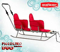 108 Матрас к санкам PICCOLINO і PICCOLINO Xdrive(duo) (красный), фото 1