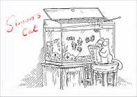 """Магнит сувенирный """"Simon's Cat"""" 05"""