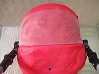 301 Кукольная коляска-трансформер 2в1 с переноской Adbor Mini Ring (красный, красный(структурный)), фото 1