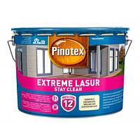 Pinotex EXTREME LASUR 10 л - Самоочищающееся лазурное деревозащитное средство