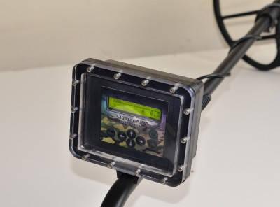 Гермобокс водонепроницаемый Aqua для металлоискателей Фортуна М, М2, М3 и Квазара АРМ, фото 2