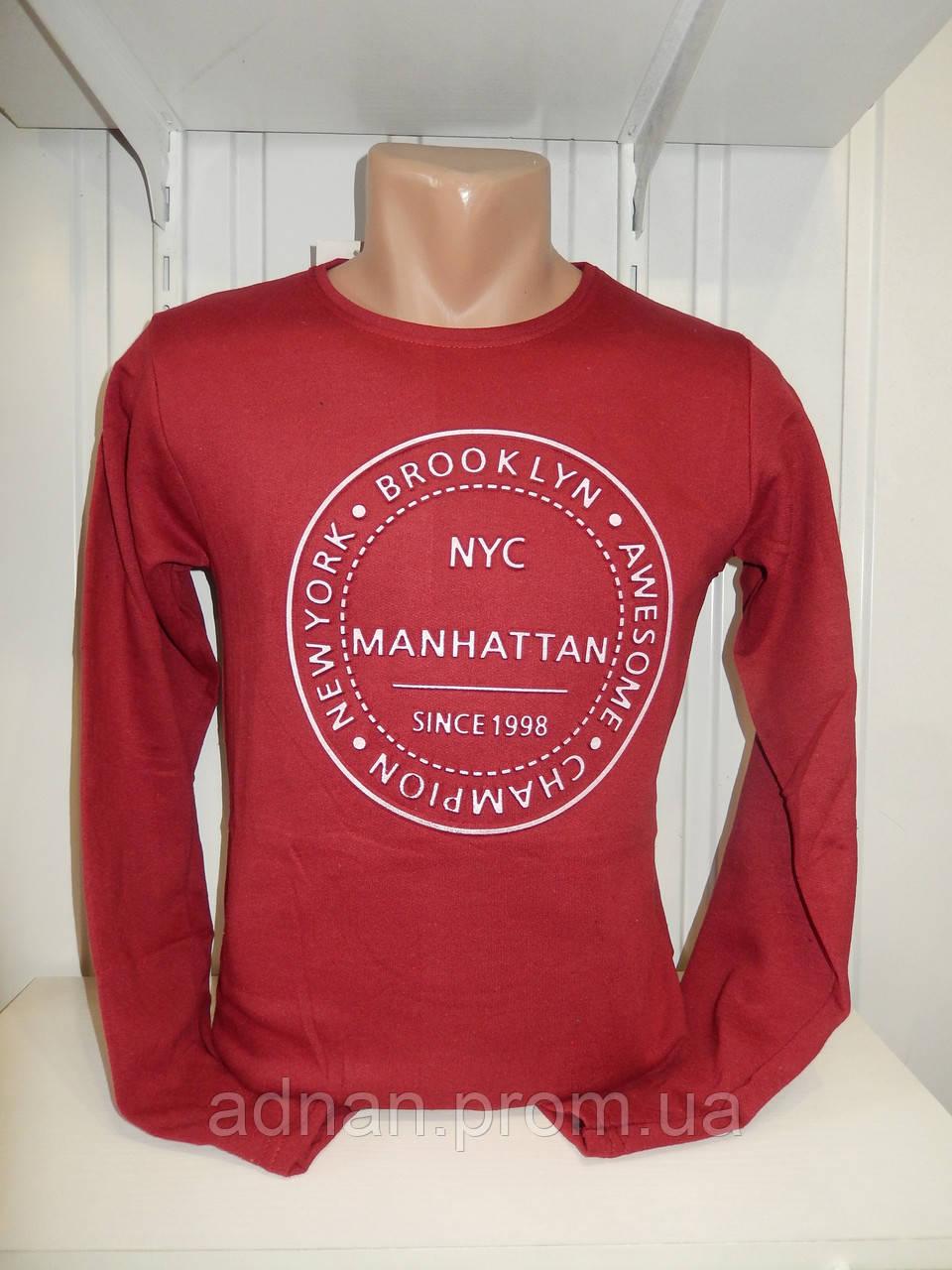Батник мужской RBS, 3D MANHATTAN, на байке 001/ купить батник, оптом