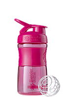 Спортивная бутылка-шейкер BlenderBottle SportMixer 590ml Pink FL (ORIGINAL) , фото 1