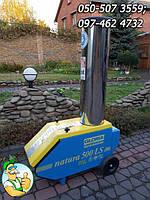 Профессиональный садовый измельчитель Gloria Natura 500 LS 2.2 кВт, дробилка садовая б/у из Германии