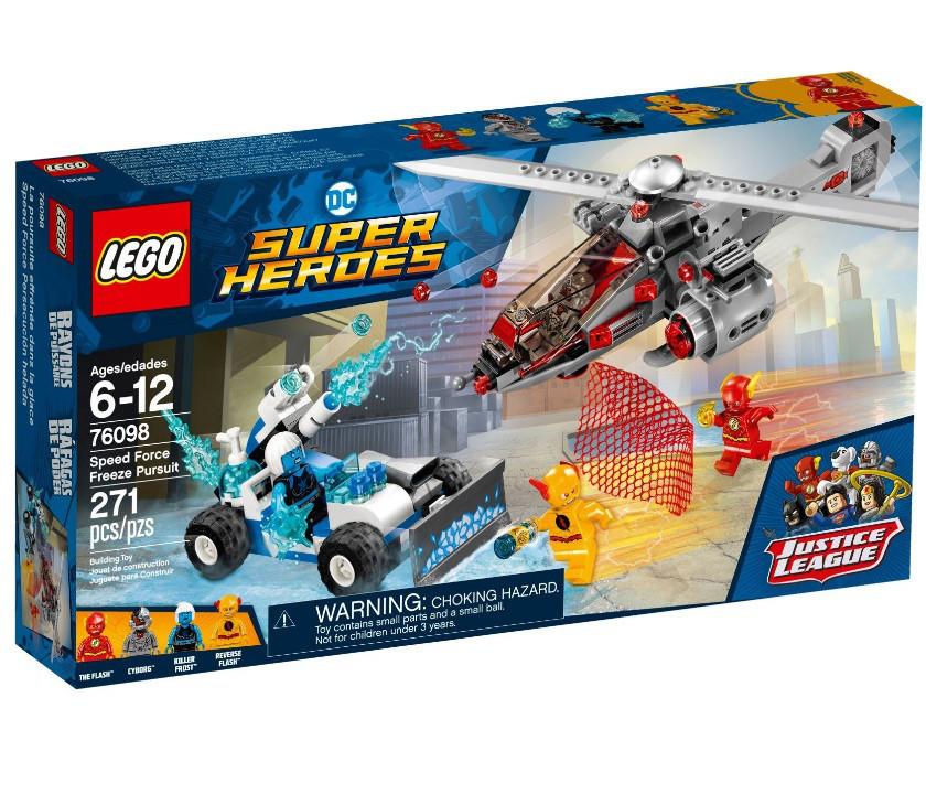 Lego Super Heroes Скоростное преследования Фриза 76098