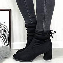 Ботинки демисезонные на каблуке 3790 (ММ), фото 3