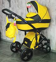 """Детская коляска 2 в 1 """"POLO"""" Экокожа, фото 1"""