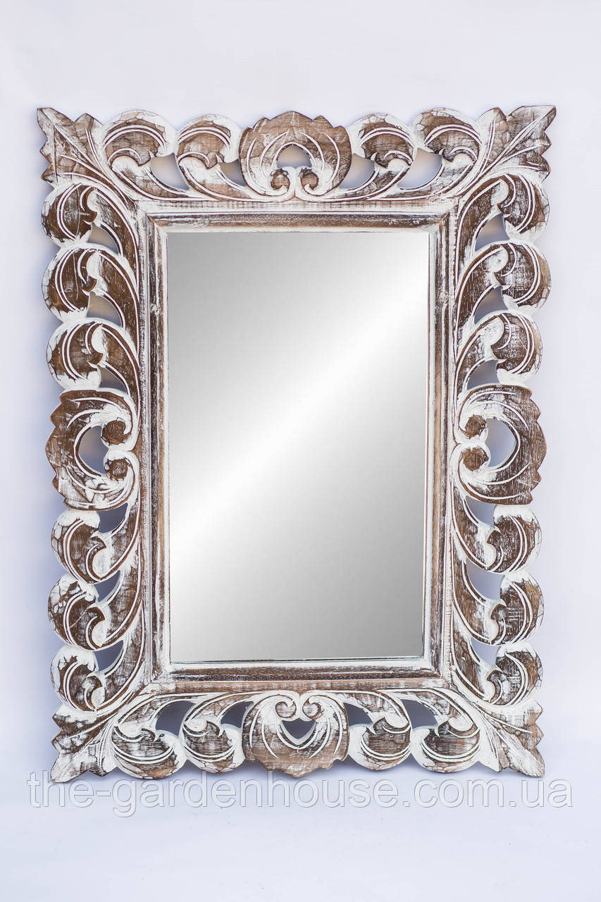 Зеркало Ajur 80х60 см, резное