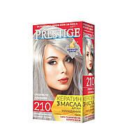 Стойкая краска для волос vip's Prestige №210 Серебристо-платиновый
