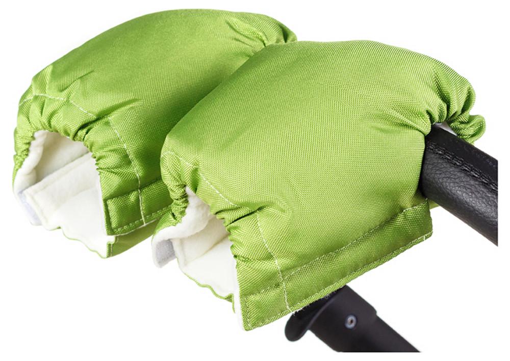 Рукавицы Умка R02 на коляску зеленый