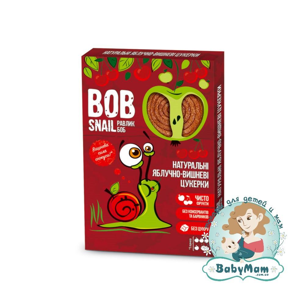 Конфеты натуральные Bob Snail (Равлик Боб) Яблочно-Вишневые, 60гр