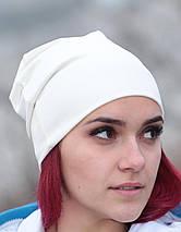 Женская шапка трикотажная, фото 3