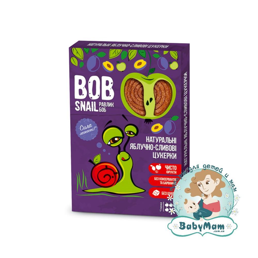 Конфеты натуральные Bob Snail (Равлик Боб) Яблочно-Сливовые, 60гр