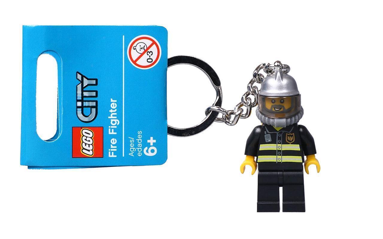 Lego City Брелок Пожарник 851537