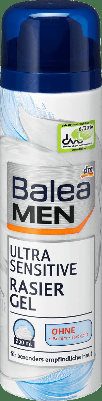 Гель для бритья Balea Men Ultra Sensitive