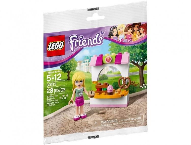Lego Friends Кондитерский киоск Стефани 30113