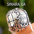 Серебряный шарм бусина  локер Пандора Глобус - Шарм Глобус Пандора серебро, фото 5